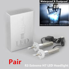 12V R3 Extreme H7 LED Headlight Conversion 6000K Kit 80W 9600 LM CANbus CREE LED