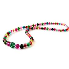 5mm~12mm Graduated Necklace Jewelry Multi-Color Crystal Quartz Beads