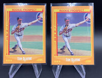 Tom Glavine RC 1988 Score Prospect BRAVES ROOKIE Atlanta Baseball HOF! x2