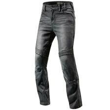 Rev'it Moto Cordura Denim Motorcycle Motorbike Jeans - Black size 33 regular