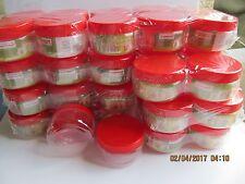 plastic storage jars 48 x 150ml