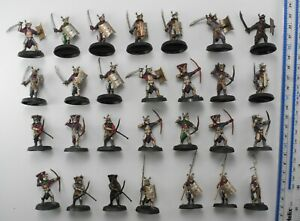 28 EASTERLING WARRIORS Plastic Lord of the Rings LOTR Evil Army Warhammer 83