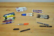 21 Pharmaceutical Drug Rep Pens Medical Trilisate Fountain Xolair Cialis Lightup
