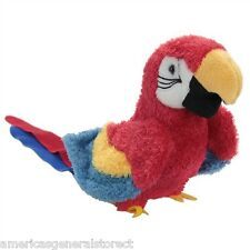 GABBY by Douglas Cuddle Toy plush PARROT stuffed animal bird scarlet macaw