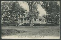 Bullville Crawford NY: c.1907-09 Postcard RESIDENCE OF S.D. ROBERSON