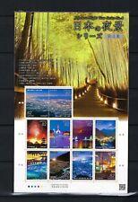 JAPAN 2017 Japanese Night View Series No 4  Stamp Mini S/S