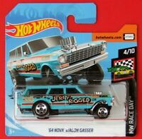 Hot Wheels 2019  ´64 NOVA WAGON GASSER  198/250 NEU&OVP.
