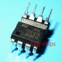 10pcs TS912IN DIP8 Original Integrated Circuit