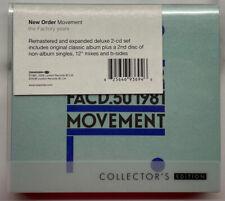 New Order - Movement - Deluxe Collectors 2 X CD Album - 2564693694 -2008