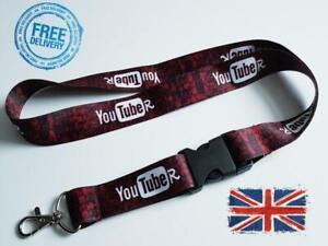 You TubeR Lanyard Neck Strap for Keys ID Card Holder SiZe Width 25mm Length 55cm