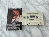 Kenny Rogers Greatest Hits CASSETTE Tape 1980 Liberty 4LOO 1072 The Gambler RARE