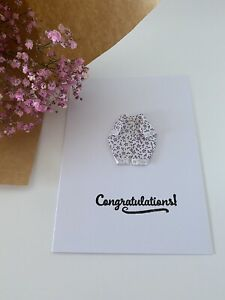 Handmade Origami Congratulations Card - Baby Shower, Announcement, For The Birth