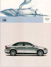 Volvo S40 2005-06 UK Market Sales Brochure S SE Sport 1.6 1.8 2.4 T5 1.6D 2.0D