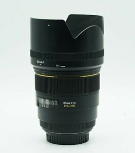 Sigma 85mm f/1.4 EX DG HSM Lens for Canon EF - Good Condition!