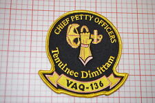 USN Electonic Attack Squadron VAQ-136 Chief Petty Officers Patch (B6-12)