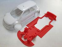 Chasis EVO Megane T1 Mustang Slot Design compatible Ninco  M-CH0005V