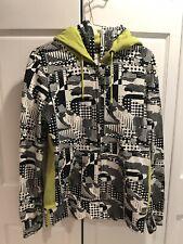 Burton Full Zip Hoodie Sweatshirt Dual Hood Size S