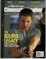 AMERICAN CINEMATOGRAPHER magazine Sept 2012