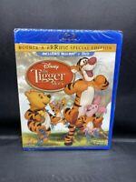 NEW SEALED BLU-RAY + DVD DISNEY THE TIGGER MOVIE