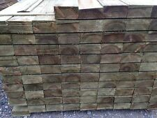 1.8m Feather Edge Boards 22x125mm Tanalised Green Fencing