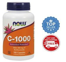 Now Foods Vitamin C-1000, 100 capsules