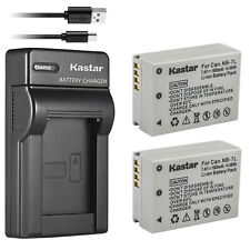 Kastar Camera Battery + Charger for Canon PowerShot G10 G11 G12 SX30 IS NB-7L 7L