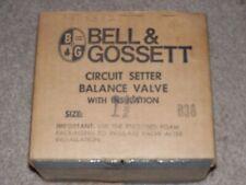 B&G CIRCUIT SETTER 1 1/2 BALANCE VALVE