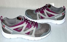 Reebok Run Supreme 2.0 V68878 Damen Schuhe Freizeit Sneaker EU 38 Grau Weiß Lila