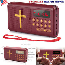 Rechargeable Audio Player Electronic Bible Talking King James Version