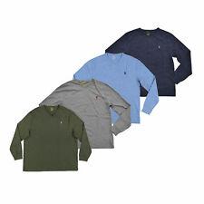 Polo Ralph Lauren мужская футболка с длинным рукавом V-образным вырезом футболка S M L Xl Xxl новый новый с ценниками