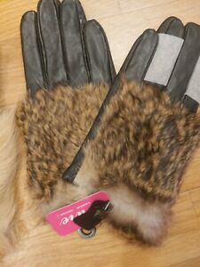 """Ladies  Leather Gloves Size 7.5"""""""