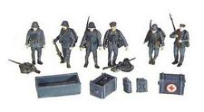 Artitec 80056 German Infantry Soldiers and Equipment resin Kit 1:87 Scale (PL)