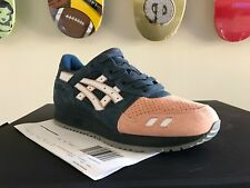 Asics x Ronnie Fieg Gel-Lyte III Salmon Toe 2.0 SPECIAL BOX Authentic NEW 7.5