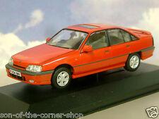Corgi Vanguards 1/43 1986 Vauxhall Carlton 3000 Gsi Rojo Rhd / Gb Va14002a