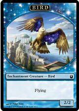 ▼▲▼ 4x Jeton Oiseau bleu (Token Bird blue) Born 4/11 #169 VF Magic
