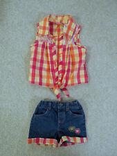 Young hearts shirt + shorts set 4T
