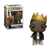 NOTORIOUS B.I.G. With Crown * New * Funko POP! Rocks 77 * Combine Shipping!
