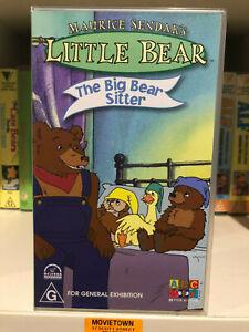 LITTLE BEAR - THE BIG BEAR SITTER - ABC For Kids - VHS