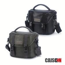 Leather Camera Case Shoulder Bag For Panasonic Lumix DC-FZ82 FZ300 GX85 GX8 G7