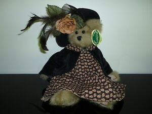 Bearington Bears JULIA Handcrafted Jointed Limited Edition Retired All Tags