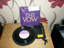 """The Vow by Toyah , 7"""" VINYL single Picture Sleeve"""