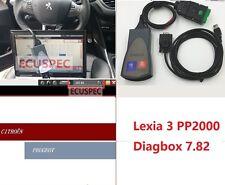 Lexia 3 PP2000 Diagbox 7.82 963830C/4.3.3V  for Citroen Peugeot Diagnostic Tool