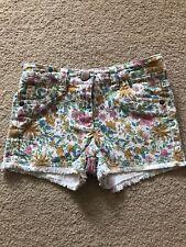 Next Girls Age 3 Patterned Shorts