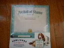 Pet Hall of Shame Dry Erase Board New Fred Howligans