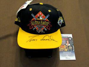 TOMMY TOM LASORDA DODGERS HOF SIGNED AUTO L/E 1994 ALL-STAR FANFEST CAP HAT JSA