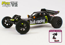 Radio control remoto vehículo RC 1/10th Buggy Flux Baja V2 realmente rápido sin escobillas UK
