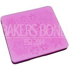13 Variation Snowflake Snow Flake Drop Silicone Christmas Xmas Baking Fondant