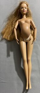 Mattel Happy Family Pregnant Midge Doll Redhead Freckles Nude With Bump 2002
