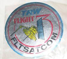 FLTSATCOM TRW FLIGHT 3  DECAL UNUSED