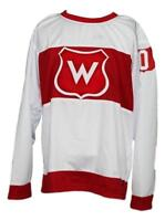 Any Name Number Size Montreal Wanderers Retro Hockey Jersey White